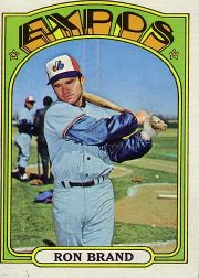 1972 Topps Baseball Cards      773     Ron Brand